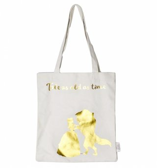 Disney Beauty And The Beast Tale As Old As Time Tote Bag