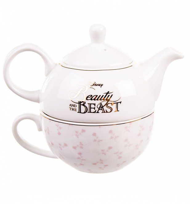 Disney Beauty And The Beast Tea For One Set