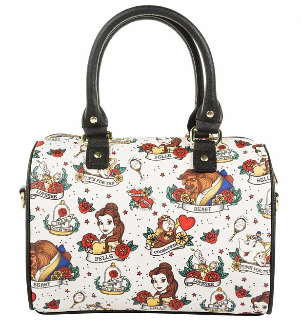 Loungefly x Disney Beauty And The Beast Tattoo Bag