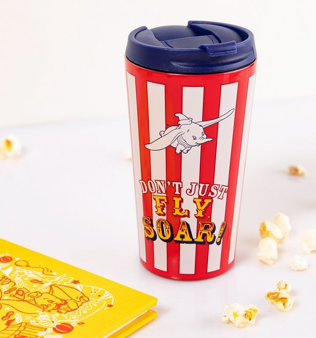 Disney Dumbo Don't Fly Soar Stainless Steel Travel Mug