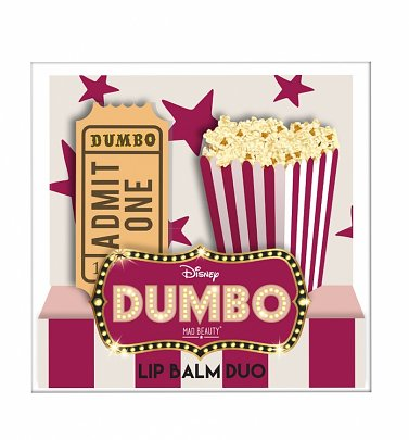 Disney Dumbo Ticket & Popcorn Lip Balm Duo from Mad Beauty