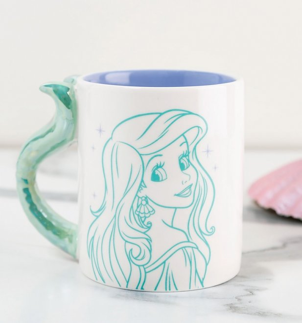 Disney Flippin Awesome Little Mermaid Tail Mug
