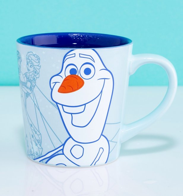 Disney Frozen Olaf Heat Changing Tapered Mug
