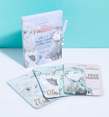 Disney Frozen Set Of 3 Sheet Face Masks Collection from Mad Beauty