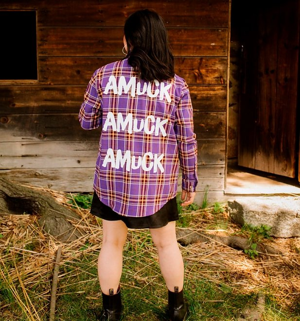 Disney Hocus Pocus Sarah Flannel Shirt from Cakeworthy