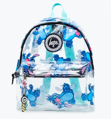 Disney Lilo & Stitch Transparent Backpack from Hype