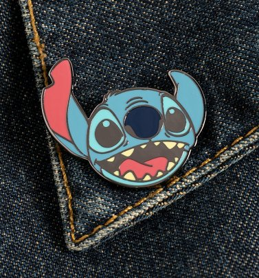 Disney Lilo and Stitch Face Enamel Pin