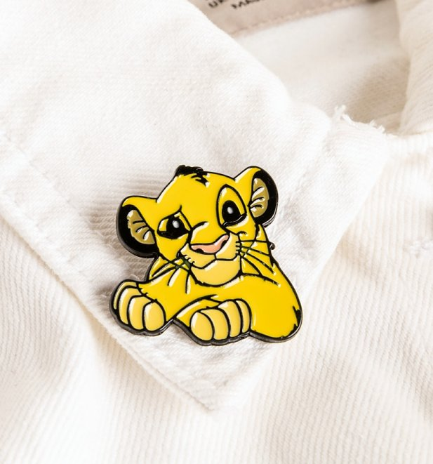 Disney Lion King Simba Enamel Pin Badge