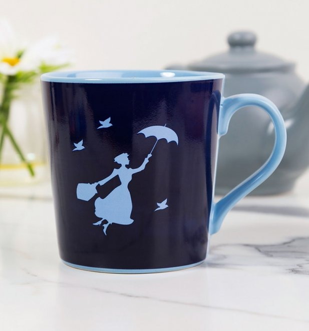 Disney Mary Poppins Heat Changing Mug