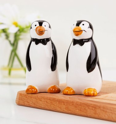 Disney Mary Poppins Penguin Salt and Pepper Shakers