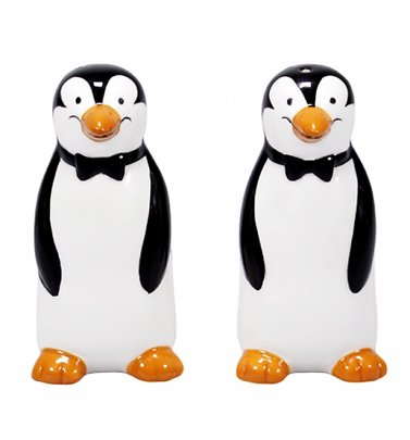 Disney Mary Poppins Penguin Salt & Pepper Shakers