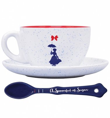 Disney Mary Poppins Practically Perfect Cup & Saucer Set