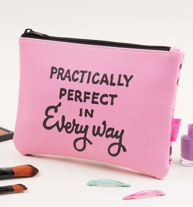 Disney Mary Poppins Practically Perfect In Every Way Cosmetic Bag from Mad Beauty