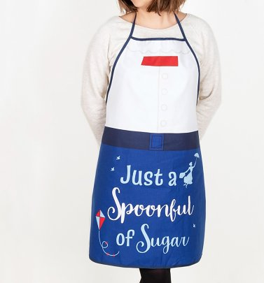 Disney Mary Poppins Spoonful Of Sugar Apron