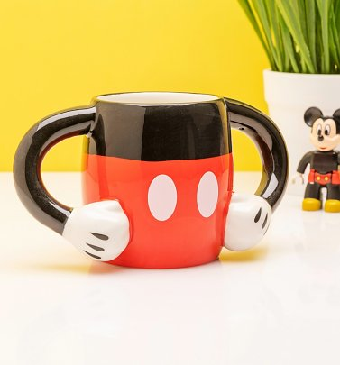 Disney Mickey Mouse Arms Shaped Mug