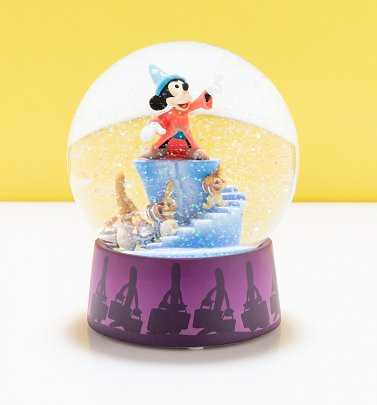 Disney Mickey Mouse Fantasia Snow Globe
