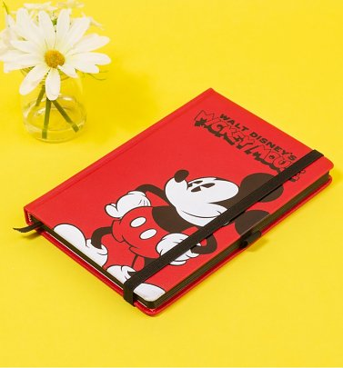 Disney Mickey Mouse Premium A5 Notebook