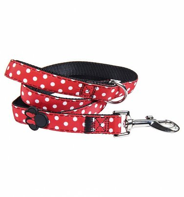 Disney Minnie Mouse Polka Dot Dog Lead