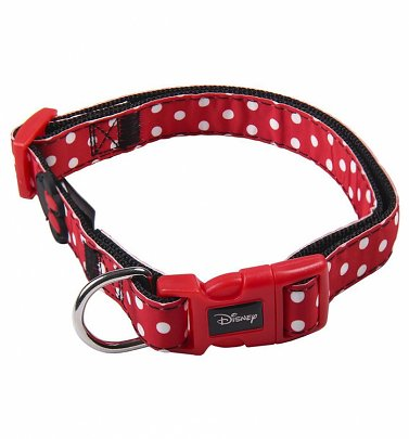 Disney Minnie Mouse Polka Dot Pet Collar