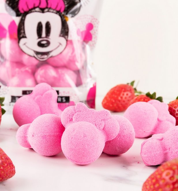 Disney Minnie Mouse Strawberry Bath Fizzers from Mad Beauty