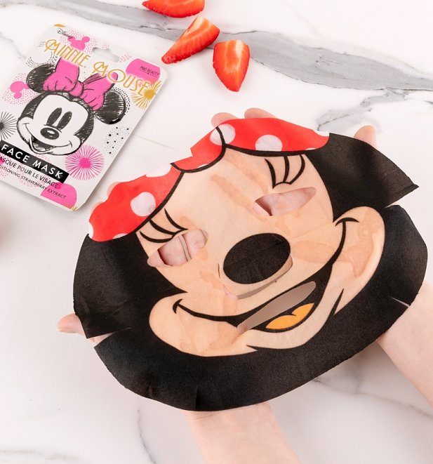 Disney Minnie Mouse Strawberry Sheet Face Mask from Mad Beauty