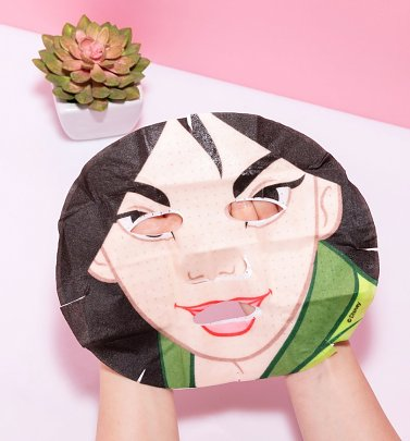 Disney Mulan Beautiful Blooms Pearl Sheet Face Mask from Mad Beauty