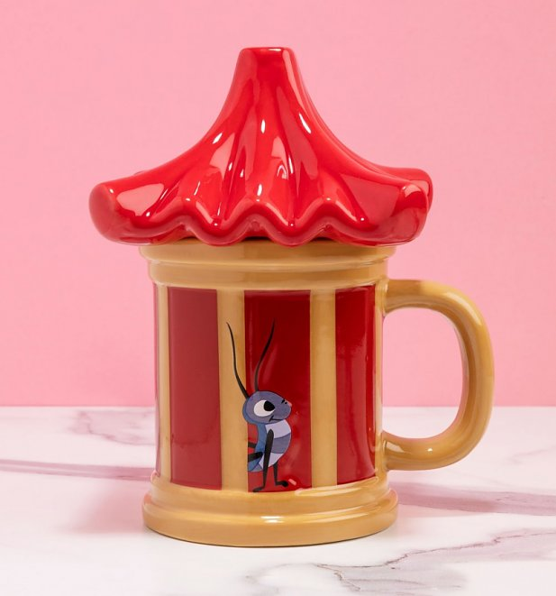 Disney Mulan Cri-Kee Your Lucky Charm Shaped Mug
