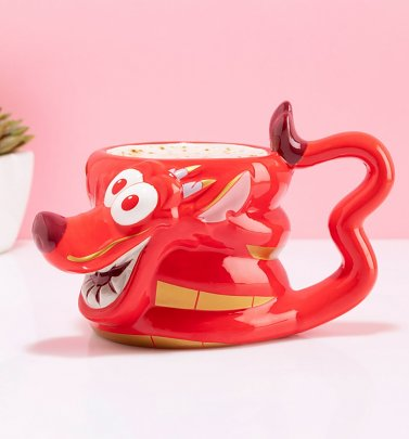 Disney Mulan Mushu Shaped Mug
