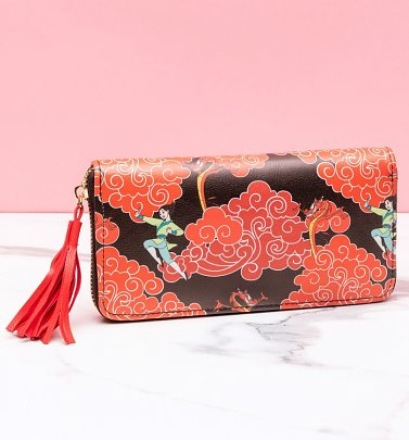 Disney Mulan Zip Around Wallet With Tassel from Difuzed