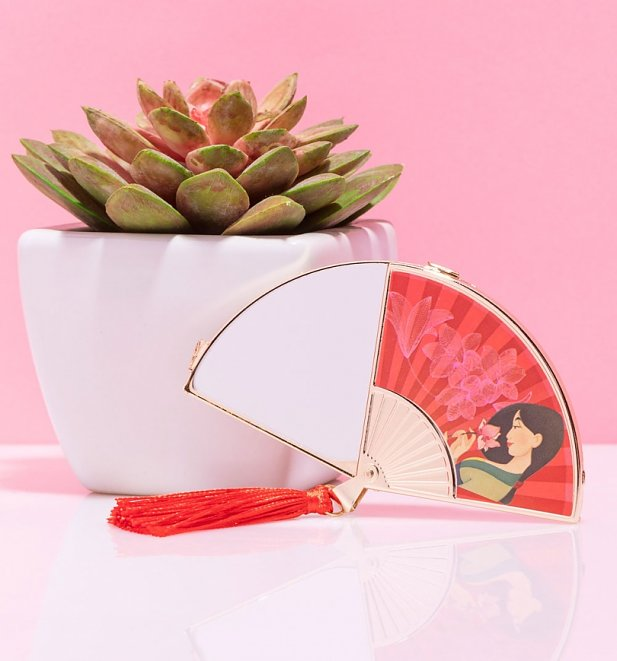 Disney Mulan Beautiful Blooms Compact Mirror from Mad Beauty