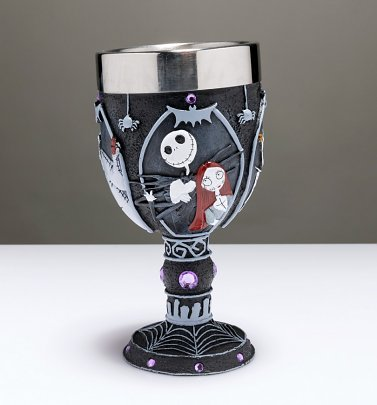 Disney Nightmare Before Christmas Decorative Goblet
