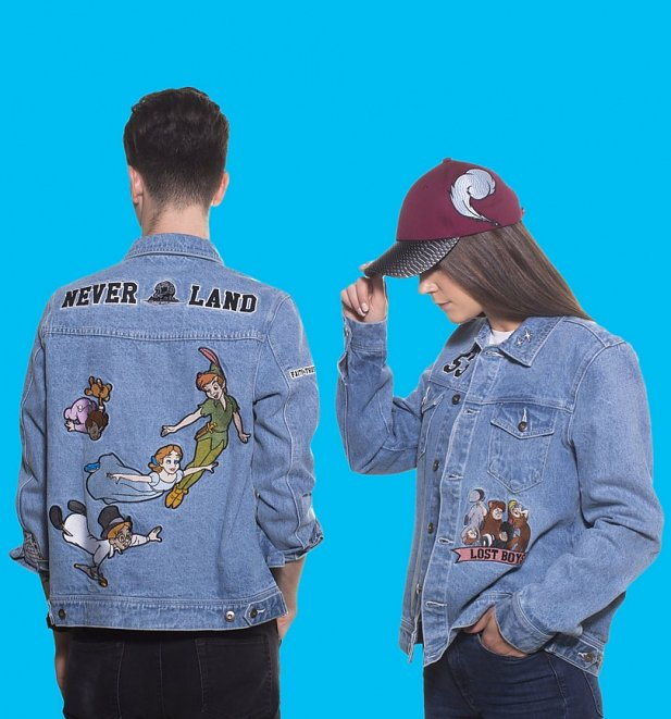 Disney Peter Pan Never Land Denim Jacket from Cakeworthy