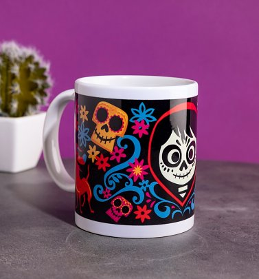 Disney Pixar Coco Miguel and Dante Mug