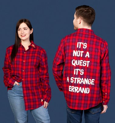 Disney Pixar Onward Ian Flannel Shirt from Cakeworthy