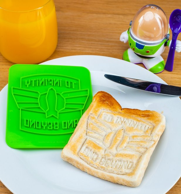 Disney Pixar Toy Story Buzz Lightyear Egg Cup And Toast Cutter Set