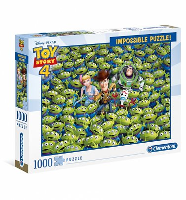 Disney Pixar Toy Story 4 Impossible 1000 Piece Jigsaw Puzzle