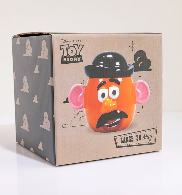 Disney Pixar Toy Story Shaped Mr Potato Head Mug