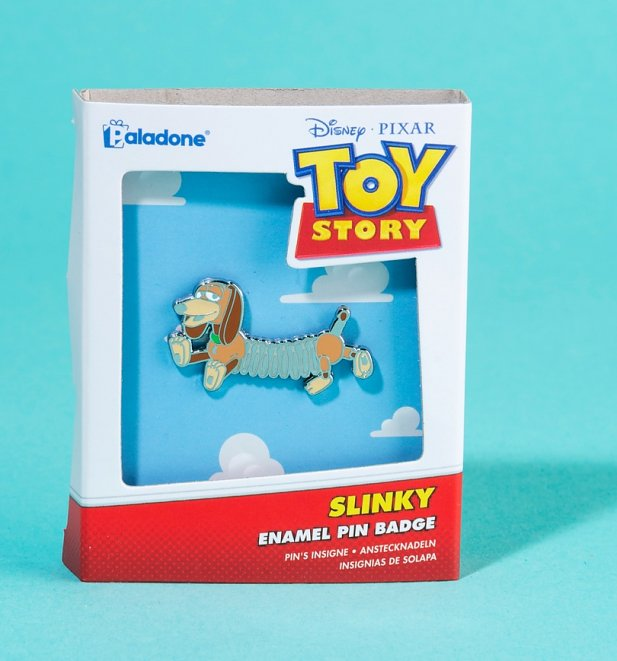 Disney Pixar Toy Story Slinky Dog Enamel Pin