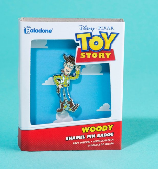 Disney Pixar Toy Story Woody Enamel Pin