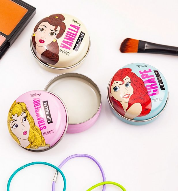 Disney Princess Lip Balm Trio from Mad Beauty