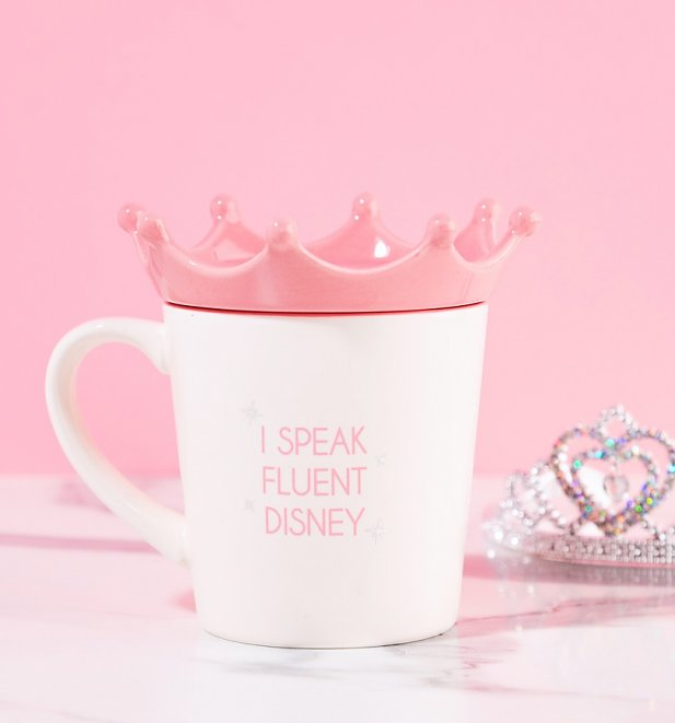 Disney Princess Mug With Crown Lid