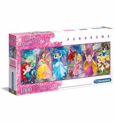 Disney Princess Panorama 1000 Piece Jigsaw Puzzle