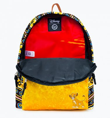 Disney Simba The Lion King Pattern Backpack from Hype