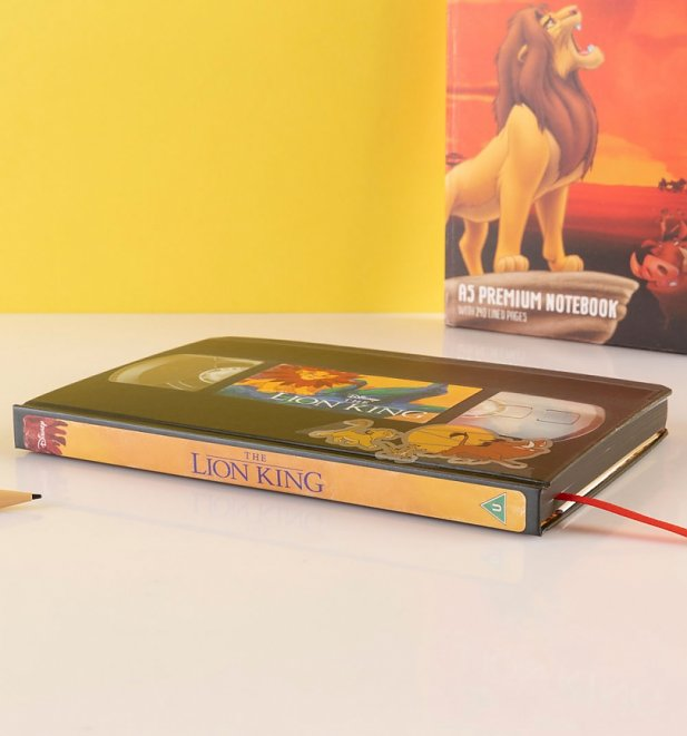 Disney The Lion King VHS Notebook