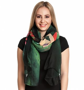 Disney The Little Mermaid Ariel And Sebastian Lightweight Scarf