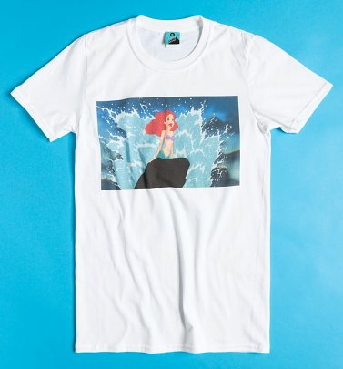 Disney The Little Mermaid Part Of Your World White T-Shirt
