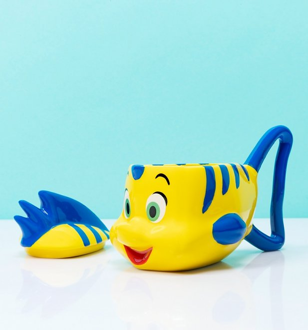 Disney The Little Mermaid Flounder 3D Mug