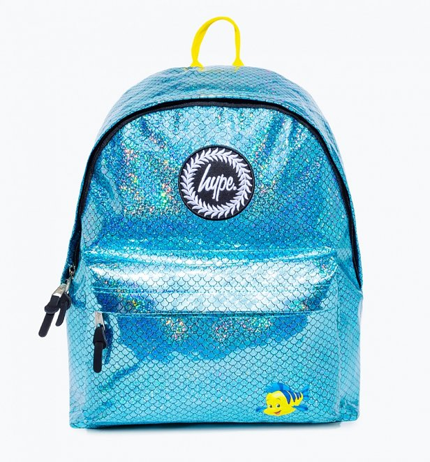 Disney The Little Mermaid Flounder Scale Backpack from Hype