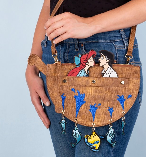 Disney The Little Mermaid Kiss The Girl Crossbody Bag from Danielle Nicole