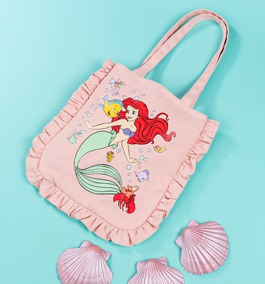 Disney The Little Mermaid Ruffle Tote Bag from Cakeworthy